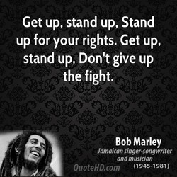 Get up, stand up, Stand 