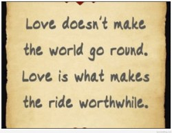 Love doesn't make 