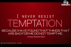 I NEVER RESIST 