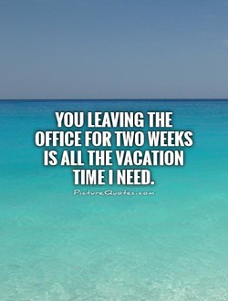 YOU LEAVING THE 