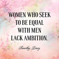 WOMEN WHO SEEK 