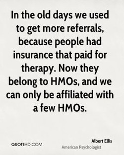 In the old days we used 