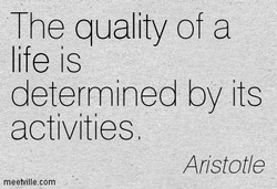 The quality of a 