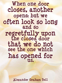 When one door 