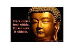 Peace comes 