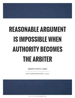REASONABLE ARGUMENT 