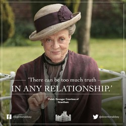 'There an be too much truth 