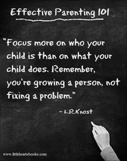 Effective Parenting 101 