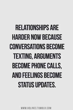RELATIONSHIPS ARE 