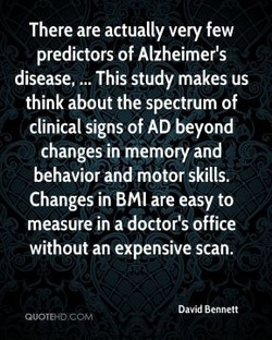 There are actually very few 