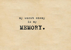 my worst enemy 