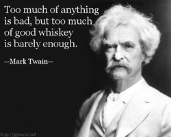 Too much of anything 