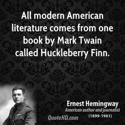 All modern American 