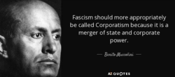 Fascism should more appropriately 