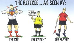 THE REFEREE SEEN 