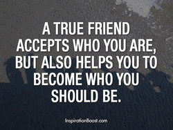 A TRUE FRIEND 