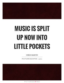 MUSIC IS SPLIT 