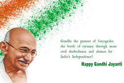 Gandhi the pioneer of Satyagraha- 
