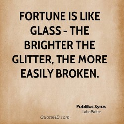 FORTUNE IS LIKE 