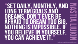 SET DAILY, MONTHLY AND 