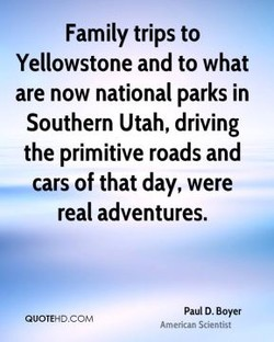 Family trips to 