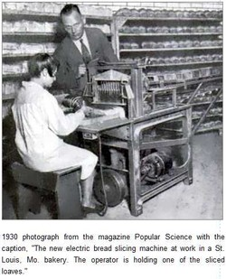 1930 photograph from the magazine Popular Science with the 
