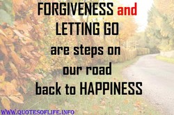 FORGIVENESS and 