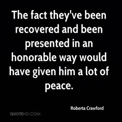 The fact they've been 