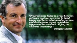 Uprograntming is a race between 