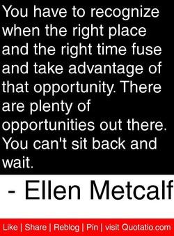 You have to recognize 