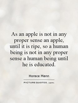As an apple is not in any 