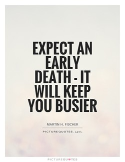 EXPECT AN 
