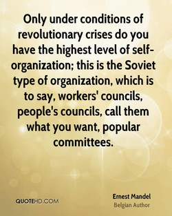 Only under conditions of 