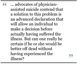 . advocates of physician- 
