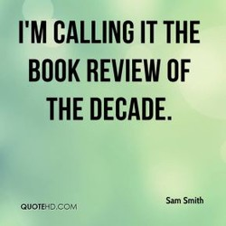 I'M CALLING IT THE 