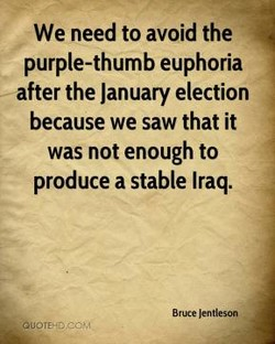 We need to avoid the 