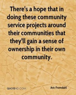 There's a hope that in 