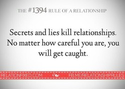 THE #1394 RULE OF A RELATIONSHIP 