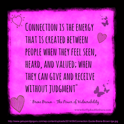 CONNECTION IS THE ENERGY 