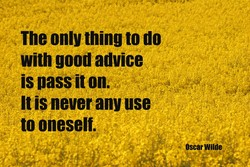 The only thing to do 