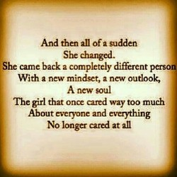 And then all ofa sudden 