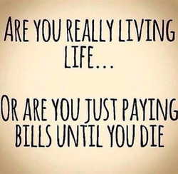 ARE YOU LIVING 