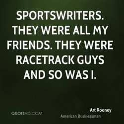 SPORTSWRITERS. 