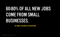 60-800/0 OF ALL NEW JOBS 
