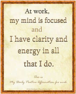 At work, 