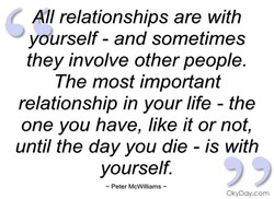 All relationships are with 