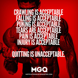 CRAWLINGIS ACCEPTABLE 
