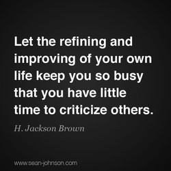 Let the refining and 