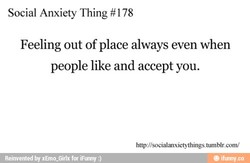 Social Anxiety Thing #178 