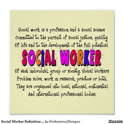goei@l work iS a profession a Social Science 